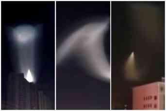 NLO NA NEBU IZNAD KINE? Neobična svetlost zaprepastila ljude, izgleda JEZIVO (VIDEO)