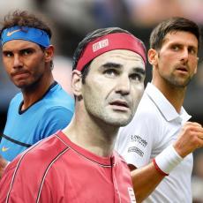 NOVAK ILI RAFA? Pitali su Federera ko bi voleo da mu TRENIRA decu... Nije imao DILEMU