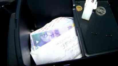 Na Gradini zaplenjeno oko 50.000 švajcarskih franaka
