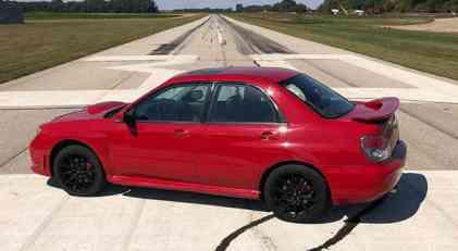 Na prodaju Subaru WRX iz filma Baby Driver