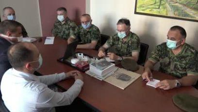 Načelnik Generalštaba obišao jedinice Vojske koje pružaju pomoć u Blacu i Prokuplju