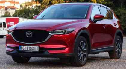 Nacionalna klasa test: 2017 Mazda CX-5 Revolution Top CD175