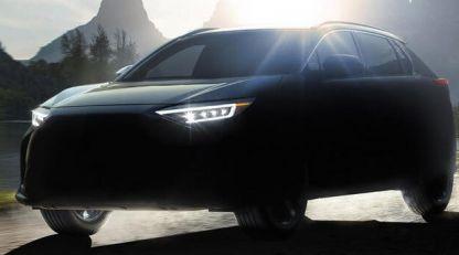 Najavljen električni Subaru Solterra