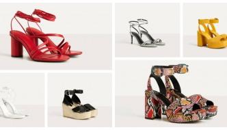 Najljepše Bershka sandale s potpeticom za ljeto 2020.