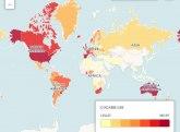 Naši susedi na vrhu liste: Mapa sveta prema upotrebi kokaina
