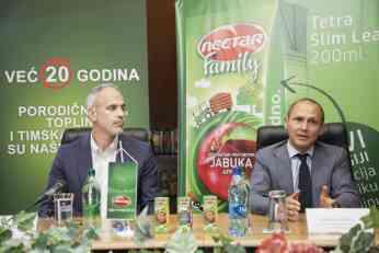 Nectar i Tetra Pak® prvi u jugoistočnoj Evropi predstavili novu liniju inovativnih Tetra Brik® Aseptic 200 ml Slim Leaf pakovanja na srpskom tržištu