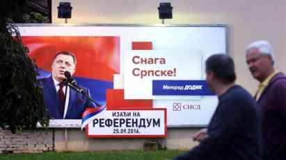 Ni Dodik nije za referendum