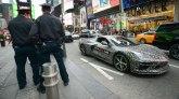 Nova Corvetta se provozala ulicama Njujorka FOTO