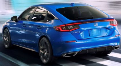 Nova Honda Civic hatchback