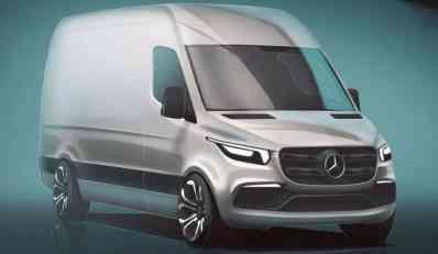 Novi Mercedes Sprinter najavljen za 2018.