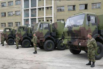 Novi kamioni za Vojsku Srbije