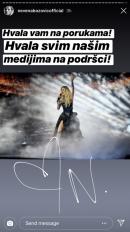 OGLASILA SE NEVENA! Evo šta ima da poruči posle Evrovizije! (FOTO)