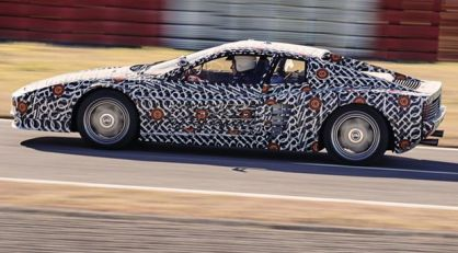 Officine Fioravanti priprema Ferrari Testarossa restomod