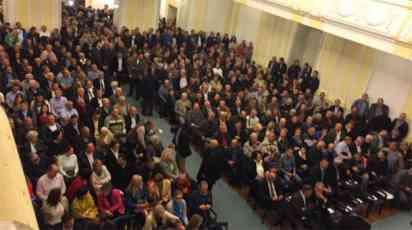 Opozicija održala prvu skupštinu naroda
