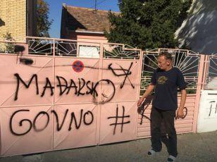 Otkriveno lice koje je pisalo grafite mržnje u Zrenjaninu
