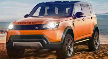 Ovako bi mogao da izgleda novi Land Rover Defender