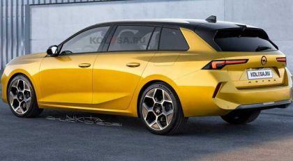 Ovako bi trebalo da izgleda novi Opel Astra Sports Tourer