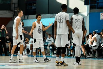 PARNI VALJAK MELJE: Treća pobeda košarkaša Partizana u pet dana