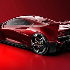 PERVERZIJA NA TOČKOVIMA: Legendarni Ferrari F40 u novom izdanju izgleda JOŠ BOLJE! (FOTO)