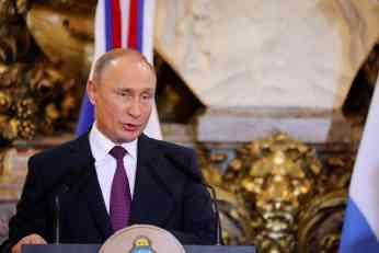 PUTIN OTKRIO DA RUSIJA PRAVI NAJMODERNIJE ORUŽJE: Rakete TOMAHAVK su prevaziđene! Nateraćemo ih da se zamisle!