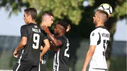 Partizan bolji od Honveda u prvoj proveri