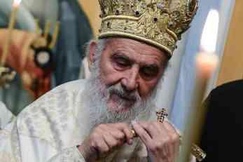 Patrijarh Irinej stigao u Podgoricu