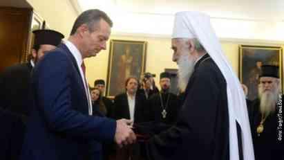 Patrijarh odlikovao dva velika prijatelja Srba - Gujona i Ricudisa