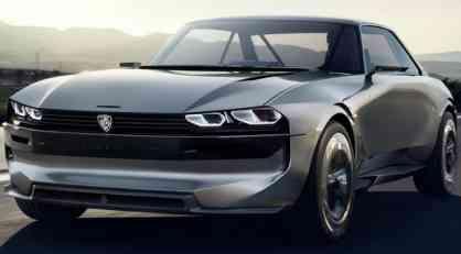 Peugeot e-Legend Concept: električni podsetnik na 504 Coupe