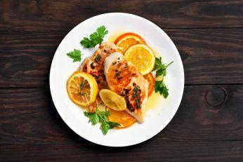 Piletina sa medom i pomorandžom
