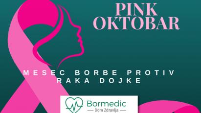 """""""Pink oktobar"""" kampanja u Domu zdravlja """"Bormedic"""""""