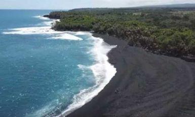 Plaža sa crnim peskom otvorena za turiste (VIDEO)