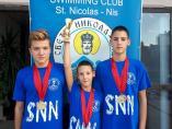 Plivači Svetog Nikole donose 13 medalja iz Skoplja