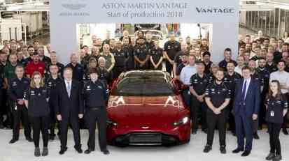 Počela proizvodnja novog Aston Martina Vantage