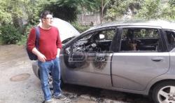 Policija i dalje traga za ljudima koji su zapalili automobil novinara iz Aleksinca