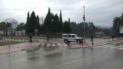 Policijski uviđaj nakon napada na ambasadu SAD