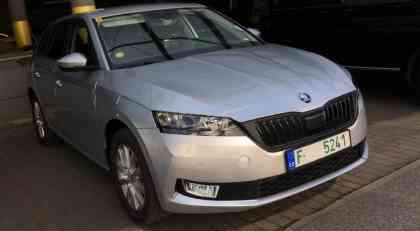 Ponovo snimljena nova Škoda Rapid