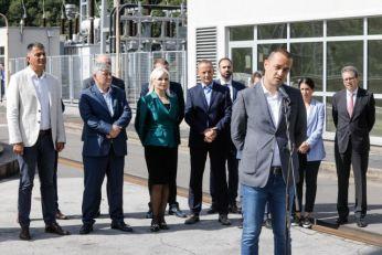 Potpredsednica Vlade Srbije posetila HE Zvornik: EPS spreman za izazove