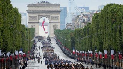 Povratak proslave Dana Bastilje na Jelisejska polja