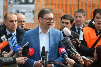 Vučić: Zapadne sile traže poraz Srbije