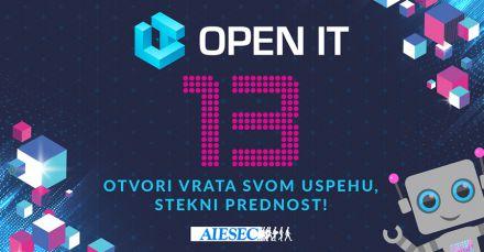 Prijavi se za Open IT i otvori vrata svom uspehu