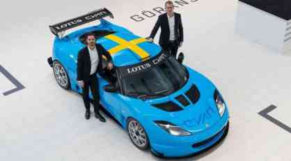 Princ Karl Filip, Bjerk i Jeranson voze Lotus Evoru u Švedskom GT šampionatu