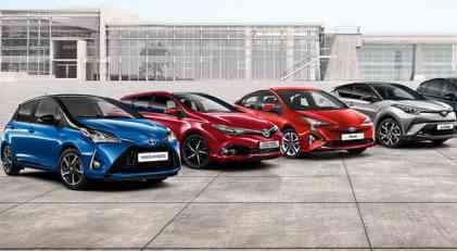Prodaja Toyota Motor Europe u prvom kvartalu 2018.