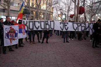 Protest DSS-a u Beogradu zbog Kosova
