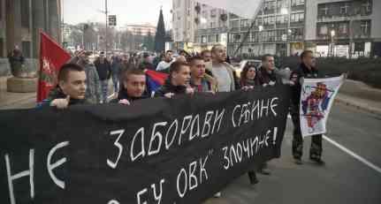 Protest Kosovo je Srbija (VIDEO)