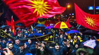 Protest u Skoplju protiv promene imena države