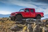 Prve fotografije: Jeep Gladiator pikap