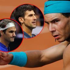 RAFA DELIO KOMPLIMENTE: Novak i Federer su SAVRŠENI, evo ko je BOLJI (FOTO)