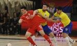 REVANŠ SA KAMATOM: Futsal reprezentacija Srbije u Beogradu poražena od Brazila