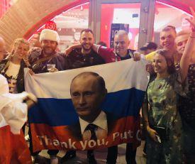 RUSIJA U TRANSU: Evo kako se u Moskvi slavi velika pobeda baćuški nad Salahom i drugarima (KURIR TV)