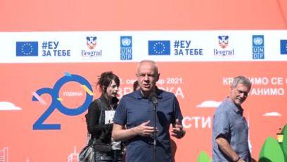 Radojičić: Zelena hijerarhija - pešaci, biciklisti i javni prevoz za smanjenje zagadjenja